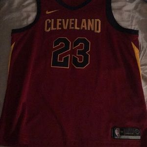 Authentic LeBron James Cleveland Cavaliers jersey